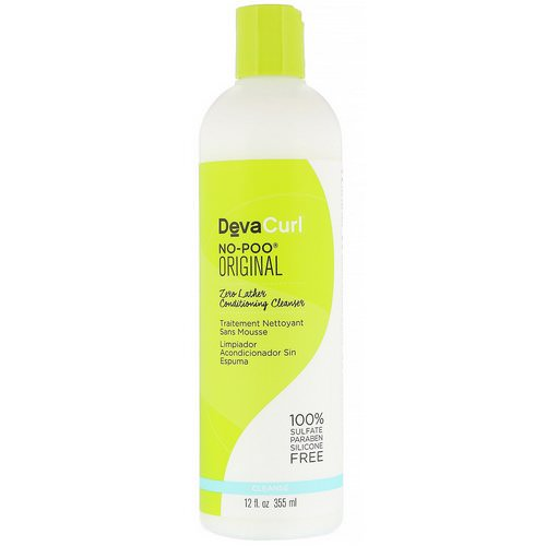 DevaCurl, No-Poo, Original, Zero Lather Conditioning Cleanser, 12 fl oz (355 ml) فوائد