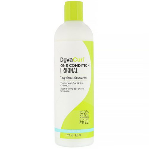 DevaCurl, One Condition, Original, Daily Cream Conditioner, 12 fl oz (355 ml) فوائد