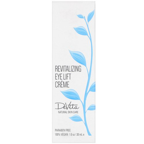 DeVita, Revitalizing Eye Lift Creme, 1 oz (30 ml) فوائد