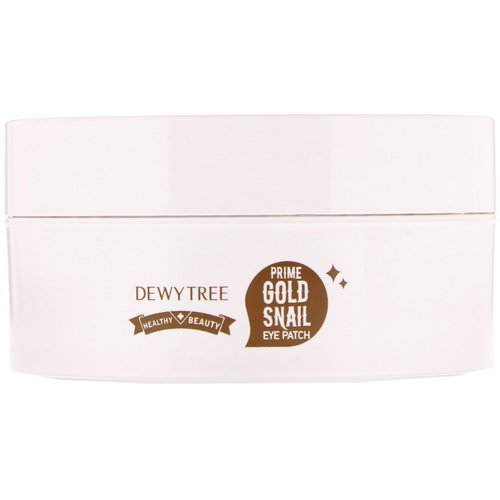 Dewytree, Prime Gold Snail Eye Patch, 60 Patches, 90 g فوائد