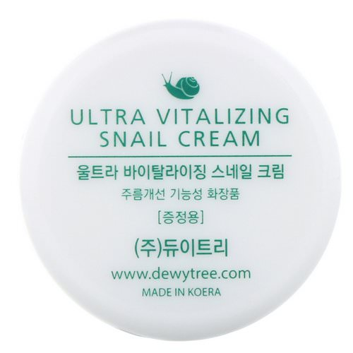 Dewytree, Ultra Vitalizing Snail Cream, 10 ml فوائد