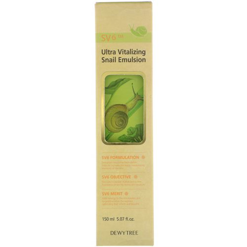 Dewytree, Ultra Vitalizing Snail Emulsion, 5.07 fl oz (150 ml) فوائد