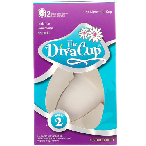Diva International, The Diva Cup, Model 2, 1 Menstrual Cup فوائد