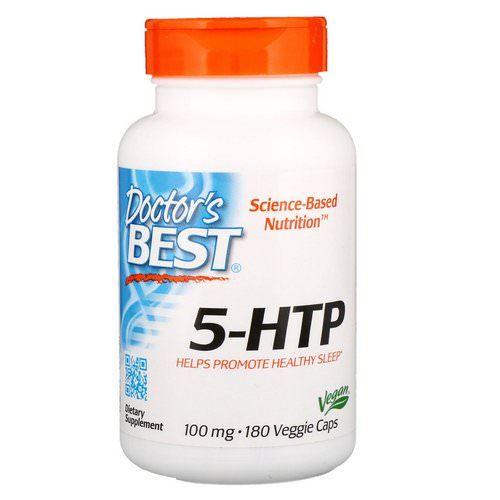 Doctor's Best, 5-HTP, 100 mg, 180 Veggie Caps فوائد