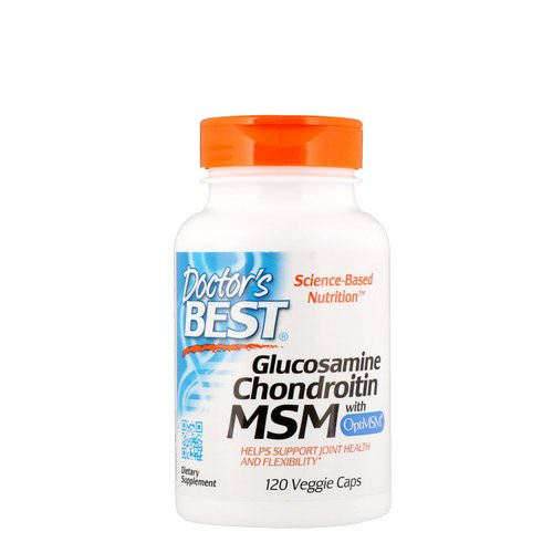 Doctor's Best, Glucosamine Chondroitin MSM with OptiMSM, 120 Veggie Caps فوائد