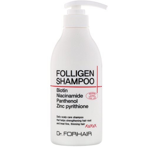 Dr.ForHair, Folligen Shampoo, 16.91 fl oz (500 ml) فوائد