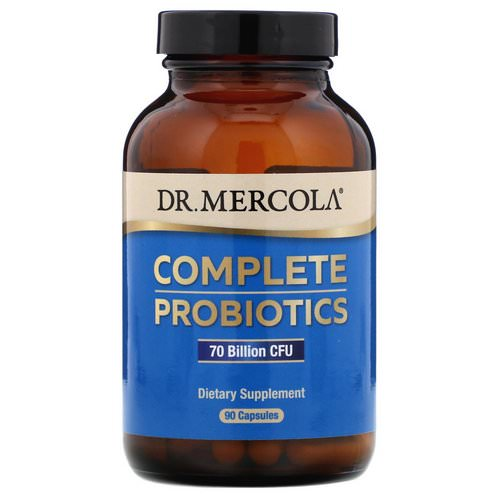 Dr. Mercola, Complete Probiotics, 70 Billion CFU, 90 Capsules فوائد