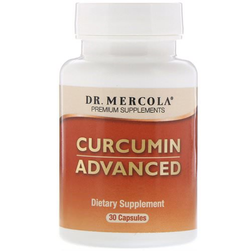Dr. Mercola, Curcumin Advanced, 30 Capsules فوائد