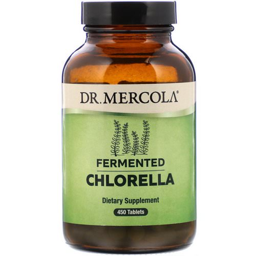 Dr. Mercola, Fermented Chlorella, 450 Tablets فوائد
