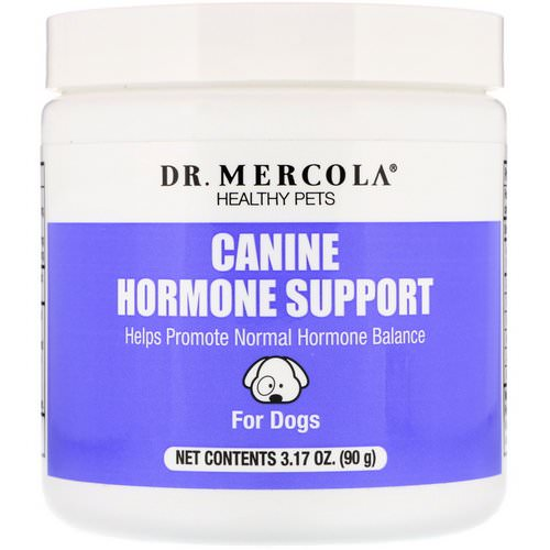 Dr. Mercola, Healthy Pets, Canine Hormone Support, For Dogs, 3.17 oz (90 g) فوائد