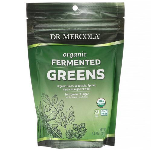 Dr. Mercola, Organic Fermented Greens, 9.5 oz (270 g) فوائد
