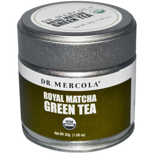 Dr. Mercola, Royal Matcha Green Tea, 1.06 oz (30 g) فوائد