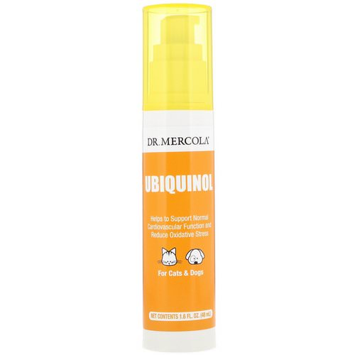 Dr. Mercola, Ubiquinol for Pets, 1.6 fl oz (48 ml) فوائد