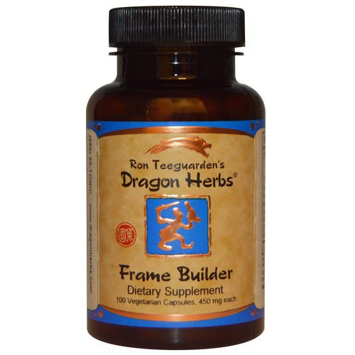 Dragon Herbs, Frame Builder, 450 mg, 100 Veggie Caps فوائد
