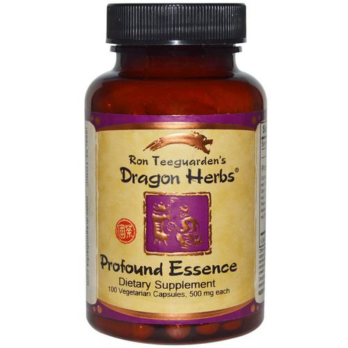 Dragon Herbs, Profound Essence, 500 mg, 100 Veggie Caps فوائد