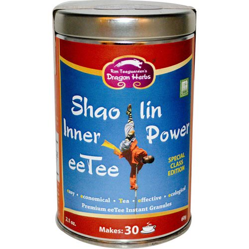 Dragon Herbs, Shaolin Inner Power eeTee, 2.1 oz (60 g) فوائد