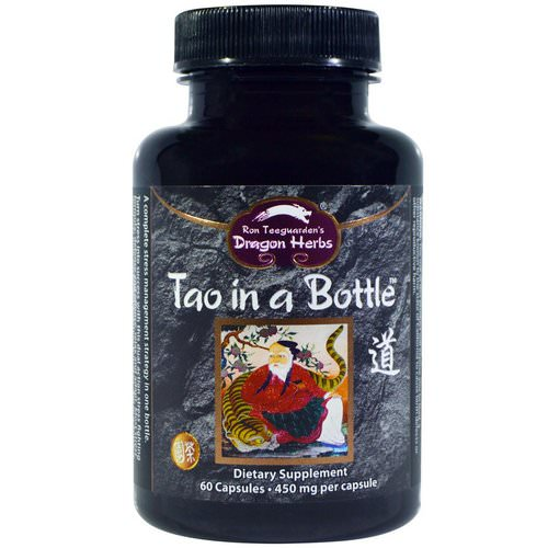 Dragon Herbs, Tao in a Bottle, 450 mg, 60 Capsules فوائد