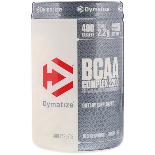 Dymatize Nutrition, BCAA Complex 2200, Branched Chain Amino Acids, 400 Tablets فوائد