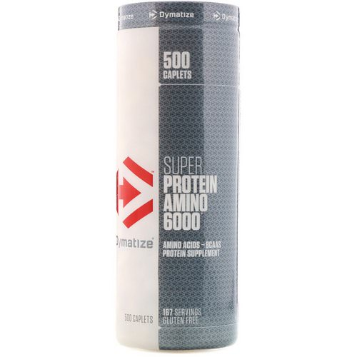 Dymatize Nutrition, Super Protein Amino 6000, 500 Caplets فوائد
