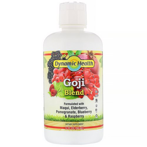 Dynamic Health Laboratories, Goji Blend, 32 fl oz (946 ml) فوائد