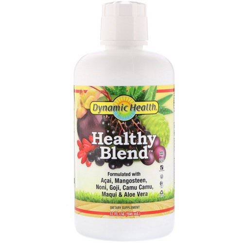 Dynamic Health Laboratories, Healthy Blend, 32 fl oz (946 ml) فوائد