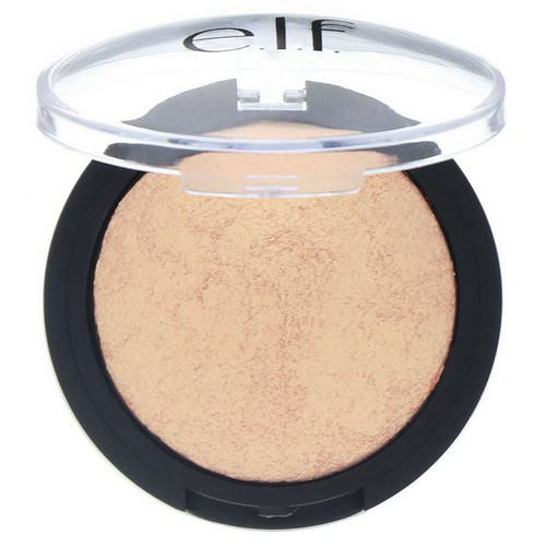 E.L.F, Baked Highlighter, Apricot Glow, 0.17 oz (5 g) فوائد