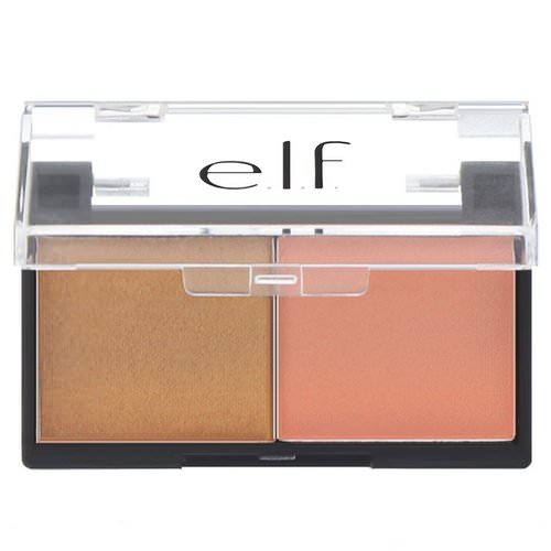 E.L.F, Best Friend Eyeshadow Duo, Peach Squad, 0.11 oz (3.0 g) فوائد