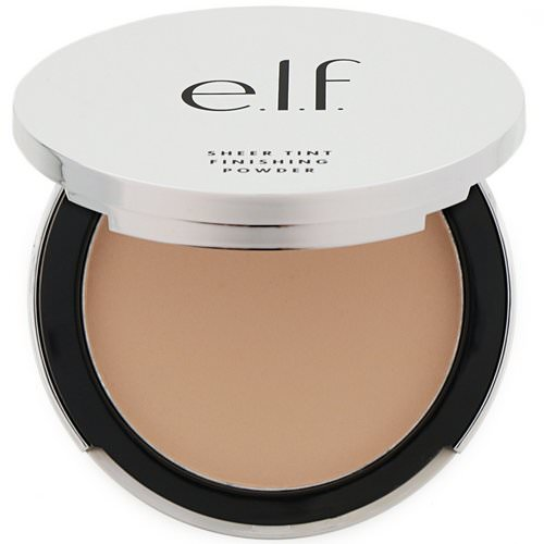 E.L.F, Beautifully Bare, Sheer Tint Finishing Powder, Light/Medium, 0.33 oz (9.4 g) فوائد