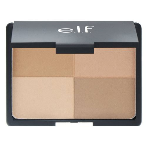 E.L.F, Bronzer, Golden, 4 Shades, 0.53 oz (15 g) فوائد