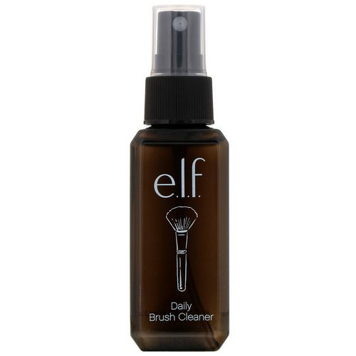 E.L.F, Daily Brush Cleaner, Clear, 2.02 fl oz (60 ml) فوائد