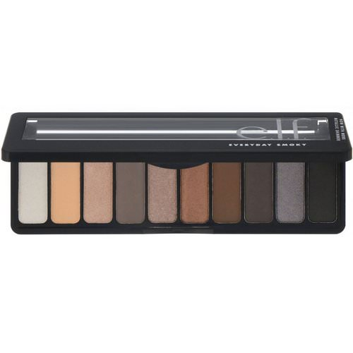 E.L.F, Eyeshadow Palette, Everyday Smoky, 0.49 oz (14 g) فوائد