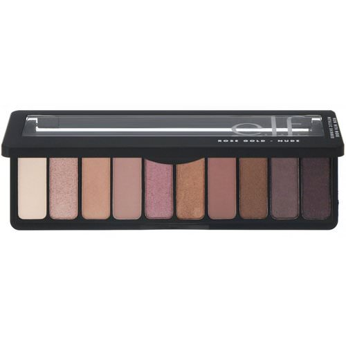 E.L.F, Rose Gold Eyeshadow Palette, Nude, 0.49 oz (14 g) فوائد