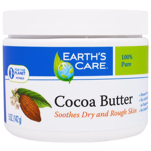 Earth's Care, Cocoa Butter, 5 oz (142 g) فوائد