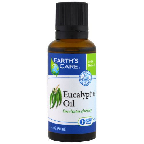 Earth's Care, Eucalyptus Oil, 1 fl oz (30 ml) فوائد