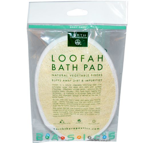 Earth Therapeutics, Loofah Bath Pad, 1 Pad فوائد