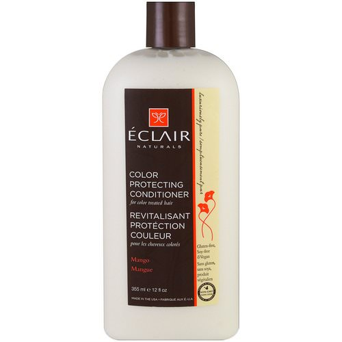 Eclair Naturals, Color Protecting Conditioner, Mango, 12 fl oz (355 ml) فوائد