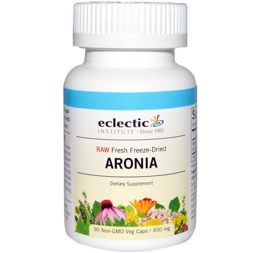 Eclectic Institute, Aronia, 450 mg, 90 Veggie Caps فوائد