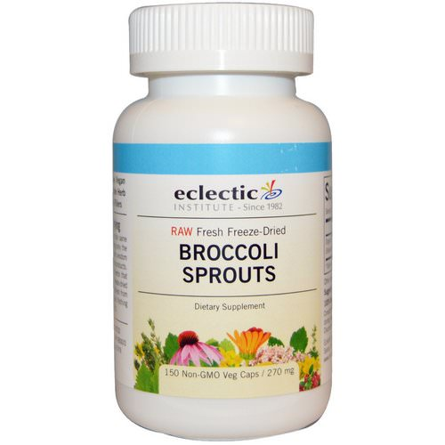Eclectic Institute, Broccoli Sprouts, 270 mg, 150 Veggie Caps فوائد