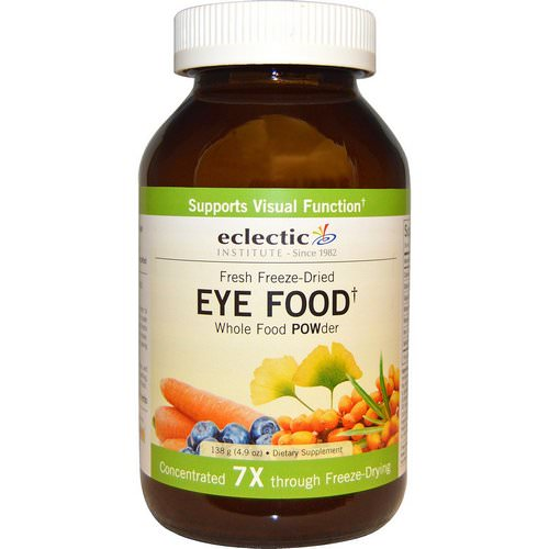 Eclectic Institute, Eye Food, Whole Food POWder, 4.9 oz (138 g) فوائد