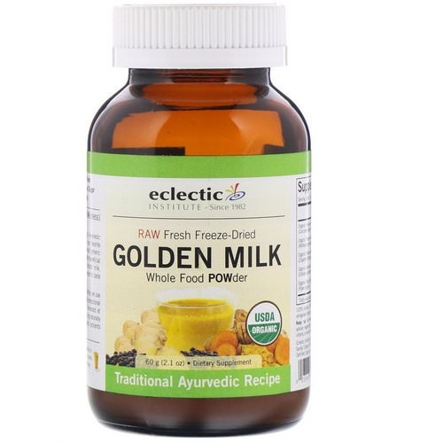 Eclectic Institute, Golden Milk, 2.1 oz (60 g) فوائد