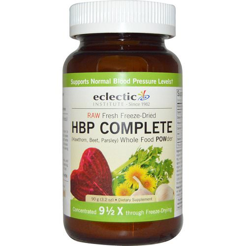 Eclectic Institute, HBP Complete, Whole Food POWder, 3.2 oz (90 g) فوائد