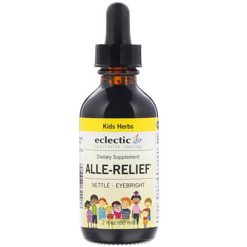 Eclectic Institute, Kids Herbs, Alle-Relief, 2 fl oz (60 ml) فوائد