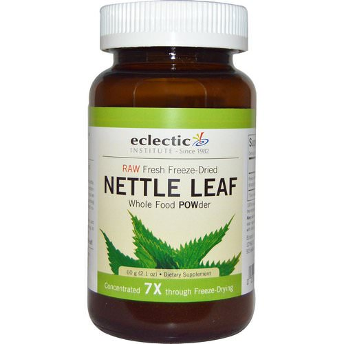 Eclectic Institute, Nettle Leaf, Whole Food POWder, 2.1 oz (60 g) فوائد