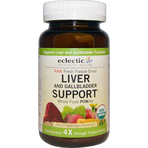 Eclectic Institute, Organic Liver and Gallbladder Support, Whole Food POWder, 3.2 oz (90 g) فوائد