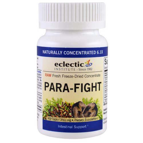 Eclectic Institute, Para-Fight, Intestinal Support, 350 mg, 45 Caps فوائد