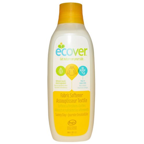 Ecover, Fabric Softener, Sunny Day, 32 fl oz (946 ml) فوائد