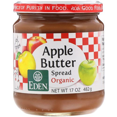 Eden Foods, Organic Apple Butter Spread, 17 oz (482 g) فوائد