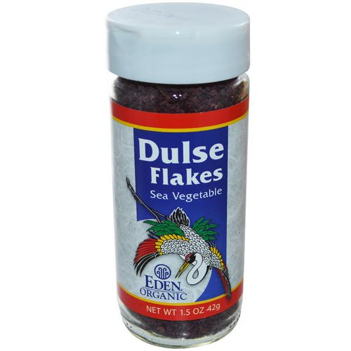 Eden Foods, Organic, Dulse Flakes, Sea Vegetable, 1.5 oz (42 g) فوائد