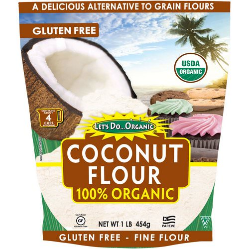 Edward & Sons, Let's Do Organic, 100% Organic Coconut Flour, 1 lb (454 g) فوائد