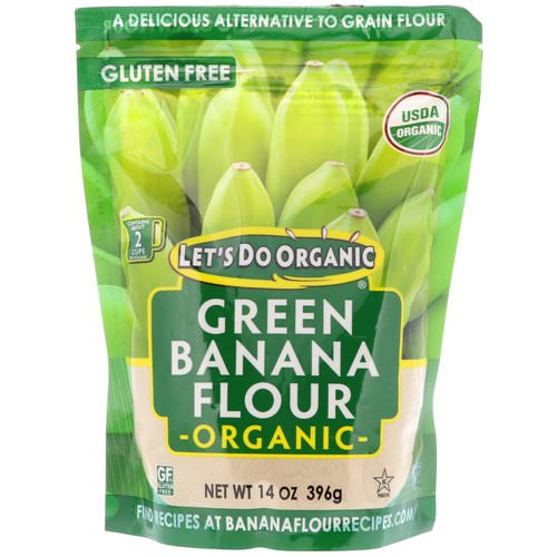 Edward & Sons, Let's Do Organic, Organic Green Banana Flour, 14 oz (396 g) فوائد